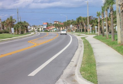 County Road A1A- St. Augustine, Florida