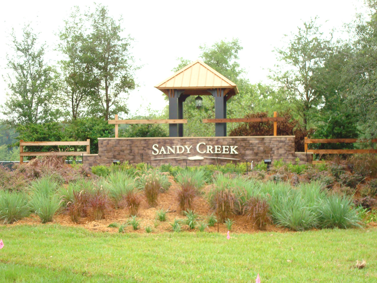 Sandy creek landscape architecture st john 39 s county for Sandy creek