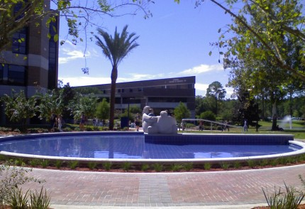 UNF Brooks College of Health Courtyards – University of North Florida, Jacksonville, Florida